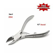 "4.5"" Heavy Duty Stainless Steel Toe Nail Clipper / Nail Cutter Pedicure Care Too"