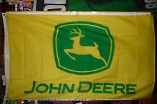 John Deer Flag 3' X 5&#039 00004000 ; Premium Automobile Dealership Banner Usa Seller