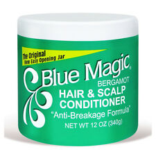 "[BLUE MAGIC] BERGAMOT HAIR & SCALP CONDITIONER ""ANTI-BREAKAGE FORMULA"" 12OZ"