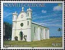 Timbre Religion Eglises Nouvelle Calédonie 851 ** année 2001 lot 5492