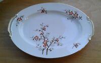 "Noritake Brenda Oval Serving Platter 16 1/2"" x 12 1/4"" Made in Japan"