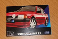 FORD RS Sport Accessories LIBRETTO fd1331 anni 1980