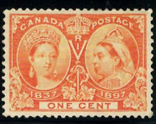 Canada Stamp #51 - Queen Victoria Jubilee (1897) 1¢ MLH