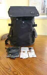 Anti-Theft Backpack Laptop Rucksack USB Bag Combination Lock/Cable for Devices
