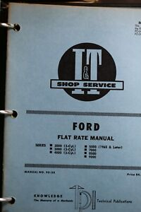 Ford Tractor I&T shop service manual