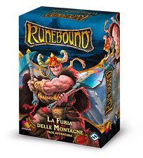 Runebound: La Furia delle Montagne, Pack Avventura, Nuovo by Asmodée, Italiano