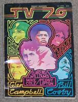 TV 70 BY PEGGY HUDSON, 1969 SOFTCOVER BOOK