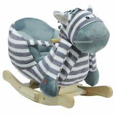 Schaukelpferd Schaukeltier Baby Kinder Schaukel Pferd Schaukelspielzeug Zebra