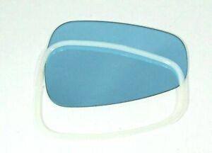 Genuine Outside Rear Mirror Glass & Plastic Retainer Ring Kit 1954-67 Mercedes