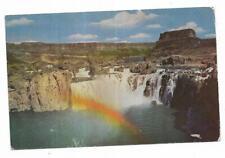 Vintage Idaho Chrome Postcard Shoshone Falls