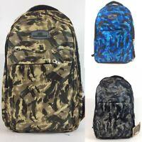 Retro Travel Backpack School Shoulder Bags Waterproof Laptop Work Bag Unisex