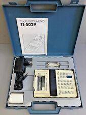 TEXAS INSTRUMENTS TI-5029 Calculatrice avec imprimante / Printing Calculator