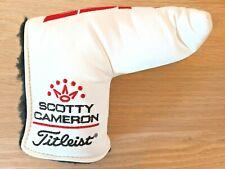 Titleist Scotty Cameron ESPN White Blade Putter Headcover
