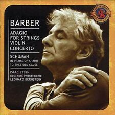 Conducts Barber/Schumann - Leonard Bernstein (2003, CD NIEUW) Stern*Isaac (VN)