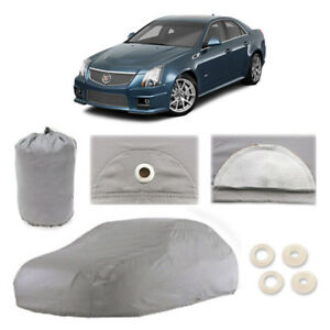 Cadillac CTS 4 Layer Car Cover Fitted In Out door Water Proof Rain Snow Sun Dust
