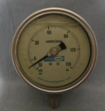 Vintage Industrial Toromont Cimco Ammonia Gauge Steampunk Salvage Lamp Part
