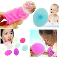 2pcs Brosse Nettoyante Visage Soft Silicone Wash Pad Face Facial Cleansing Brush