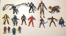 Super Bundle of 15 Marvel & DC Action Figures Spiderman Batman Hobgoblin Ironman