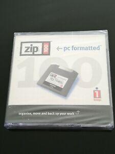SET 3x zip 100 iomega pc formatted cassetta SIGILLATO 4019976301338