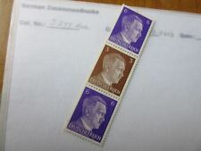 EBS Germany 1941 Hitler Zusammendrucke / se-tenant strip Michel S277 MH*
