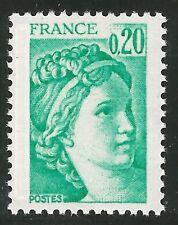 1978 France 1967a Sabine variété phosphore PH à gauche !! ★★ neuf sans charnière