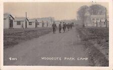 Surrey -  EPSOM, Woodcote Park, Military Camp  - Real Photo used c 1915