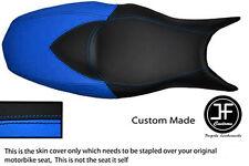 Luz Azul Negro personalizado de vinilo cabe BMW F 800 R F 800 S F 800 St Doble Cubierta de asiento