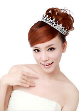 Hot Deal Sparkling Crystal Crown Headband Pageant Prom Wedding Tiara Party