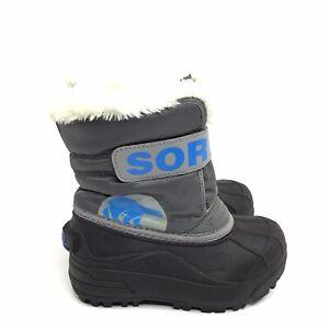 SOREL Kids Commander Winter Snow Boot Size 10 Toddler