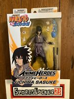 🔥Bandai Anime Heroes Naruto Shippuden Uchiha Sasuke 6 Action Figure IN HAND 🔥