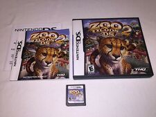 Zoo Tycoon 2 DS (Nintendo DS) Original Release Complete Nr Mint!