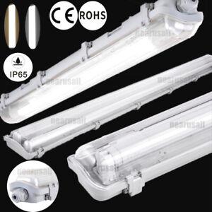 ⭐⭐⭐⭐⭐LED Feuchtraumlampe Garage Deckenleuchte Wannenleuchte 60/120/150cm Röhre