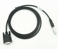 NEW TOPCON GPS RS232 Download Data Cable for TOPCON GPS 7 pin