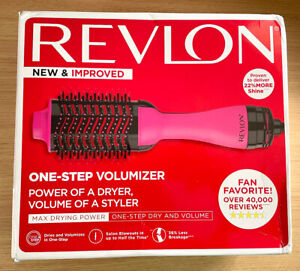 New! Revlon Salon One Step Hair Dryer and Volumizer - Hot Pink - Box Damaged