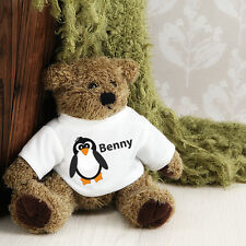 Personalised Teddy Bear -  Penguin