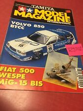 Tamiya Model Magazine International N° 23 1996 Volvo 850 BTCC modélisme