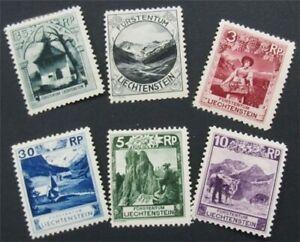 nystamps Liechtenstein Stamp # 94//100 Mint OG H/NH       S17x710