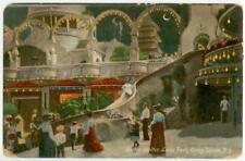 1904 Coney Island New York Helter Skelter Luna Park