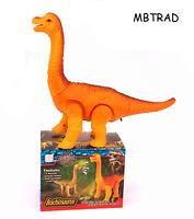 Walking Dinosaur Brachiosaurus Toy Light sound and motion ACTION FIGURE