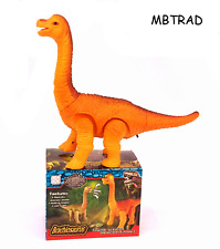 Electronic Dinosaur Kids Toy Roar Sounds Noises LED Light Up Walking battery op
