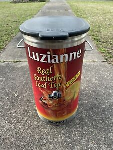 ICED TEA BREWER 3 1/2 gal HOLDER ICED TEA -Luzianne Canister Only With Out Spout