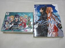 UPS 3-7 Days to USA PSP Sword Art Online Infinity Moment Limited Edition W/Guide