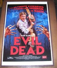 The Evil Dead 11X17 Movie Poster Ash Reissue version