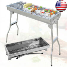 Foldable Large Barbecue Charcoal Grill Patio Kabob Shashlik BBQ Cooking Stove