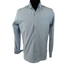 Scotch & Soda Amsterdam Couture Mens Large Light Blue Long Sleeve Button Down