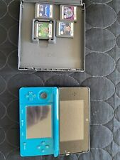 Nintendo 3ds console With  Pokemon X & Saphire In Console With 4 Ds Games