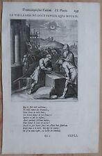 Vaenius Emblem Folio Le Vieillard - 1672