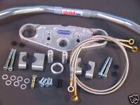 Superbike Lenker Umbau - Kit für YAMAHA FZR 1000 Exup 89-91 (Telegabel)