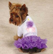 Zack & Zoey Chiffon Cupcake Tee & Skirt Set Dress t-shirt top tulle ruffle skirt