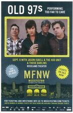 Old 97'S 2012 Mfnw Gig Poster Portland Oregon Musicfest Nw Concert